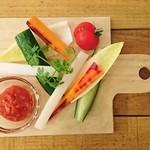 カフェ&バル スプラウト - 野菜スティック ~トマト味噌ディップ~
