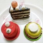 フランセ - 料理写真:クラシックショコラ、ジヴァラ、ピスターシュ♡