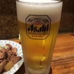 大統領 - 生ビール(中)  500円