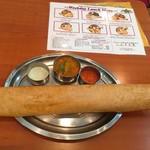 南インド料理 マハラニ - マサラドーサセット