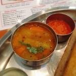 南インド料理 マハラニ - サンバル