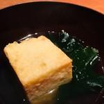 鮨うつし川 - だしがとても美味しい。