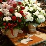 スパイスビストロB - お花いっぱい