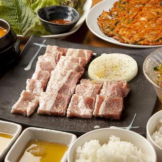 腹ペコさんに!焼肉&サムギョプサル食べ放題でお腹いっぱい★