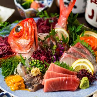 【産地直送の海鮮使用】人気の海鮮宴会コースは3498円より!