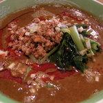 優味彩 - 特製担担麺 絶妙な辛さ、毎日食べに来る人も・・・    750円