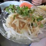 かん七 - シニアセット(松)のサラダ