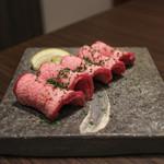 焼肉Garden MISAWA - 和牛特選塩タン☆