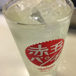 松葉総本店 - タコハイ¥350。 タコが言うのよねー、タコが