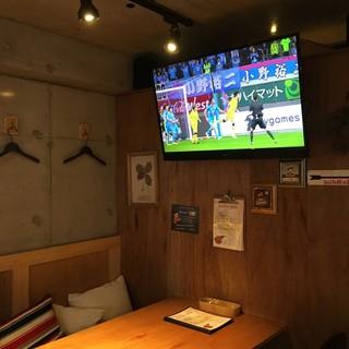 サッカー日本代表戦で盛り上がりましょう♪