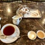 ラ・テラス - 紅茶&お砂糖&クロテッドクリームなど