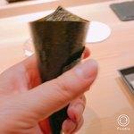 鮨 なんば - マグロの手巻き寿司