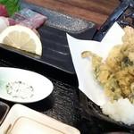 新鮮居酒屋 かずき - らんち定食850円