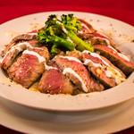 牛ステーキ DON-丼(味噌汁付き)