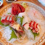 魚問屋 魚政宗 - せんべろセットのお刺身(4人分)