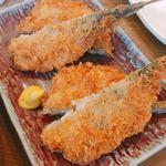 魚問屋 魚政宗 - アジフライ  1尾190円×2