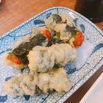 魚問屋 魚政宗 - 納豆の天ぷら  290円