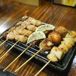 串ザンマイ - 串6本盛り