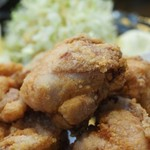 串ザンマイ - 若鶏の唐揚アップ