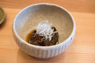 柚木元 - 2018.4 猪バラ肉 黒酢餡かけ