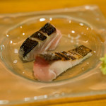 平和寿司 - 2018.4 関サバ塩炙り