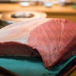平和寿司 - 2018.4 和歌山本鮪90kgカマシタ(砂ずり)