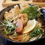 うどん 和 KAZU - 料理写真:とり天ぶっかけ