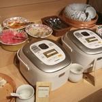 84888532 - ワカメご飯に普通のご飯、カレーにうどんにラーメンもあります。