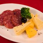 サラミ&チーズ