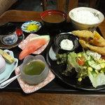 つれづれ - 魚フライ定食