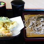 遊神館 - 天ざるそば 980円
