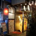 成都 - 神田駅西口の裏通り