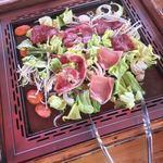 伊香保グリーン牧場 - 牛と豚とラム肉が食べ放題(^∇^)←野菜とご飯と味噌汁も