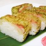 84895970 - 鯛上箱寿司。1700円