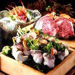 【匠-Takumi-コース】瀬戸内産天然真鯛の水煙蒸し×国産牛フィレ肉の鉄板焼 Wメイン堪能