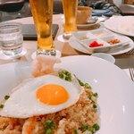 フライヤーズテーブル - ナシゴレン、ビールと合います!^_−☆