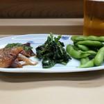 家庭料理 小川 - 盛り合わせ