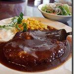 えのき - 料理写真:えのき ジャンボハンバーグ