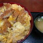 ひばり食堂 - かつ丼(税込み800円)