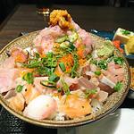 和牛肉バル 錦えもん - 海鮮丼
