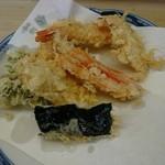 いもや - 天ぷら定食の天ぷら