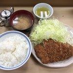 いもや - とんかつ定食 ¥800-