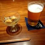 84909960 - 生ビール。うすはりグラス。