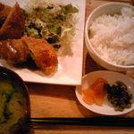 Kazuyaのごはん - ランチで一番リーズナブルなコロッケ定食
