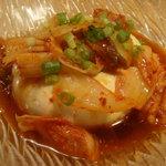 手作りぎょうざ天華 - 韓国風豆腐(480円)