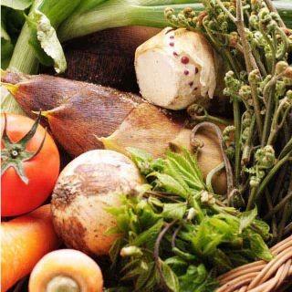 契約農園で特別に作って頂いている無農薬野菜!