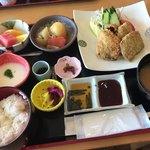 椿庵 - 料理写真:海軍定食(¥1,750)