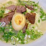 極 蘭州拉麺 - 蘭州牛肉拉麺 780円