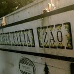 ザオー - お店外の看板