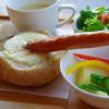 あるうのぱいん - 料理写真:パンのうつわのチーズフォンデュセット